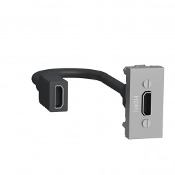 Розетка компьютерная HDMI Schneider Electric Unica New Modular NU343030