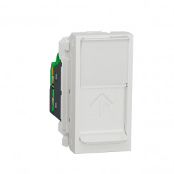 Розетка компьютерная RJ45 Schneider Electric Unica Modular Cat. 5e UTP NU341018