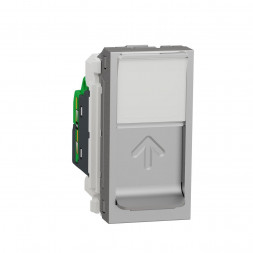 Розетка компьютерная RJ45 Schneider Electric Unica Modular Cat. 5e UTP NU341030
