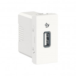 Розетка компьютерная USB Schneider Electric Unica New Modular NU342818