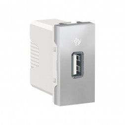 Розетка компьютерная USB Schneider Electric Unica New Modular NU342830