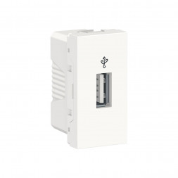 Розетка компьютерная USB Schneider Electric Unica New Modular NU342918