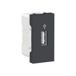 Розетка компьютерная USB Schneider Electric Unica New Modular NU342954