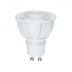 Лампа светодиодная диммируемая (UL-00003988) GU10 6W 4000K матовая LED-JCDR 6W/NW/GU10/FR/DIM PLP01W