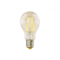Лампа светодиодная филаментная диммируемая Voltega E27 8W 2800К прозрачная VG10-А1E27warm8W-FD 5489
