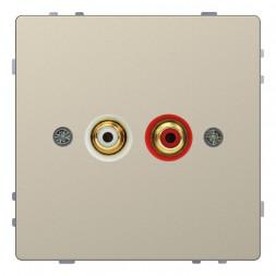 Аудиорозетка Schneider Electric Merten D-Life MTN4350-6033