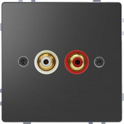 Аудиорозетка Schneider Electric Merten D-Life MTN4350-6034