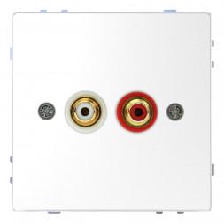 Аудиорозетка Schneider Electric Merten D-Life MTN4350-6035