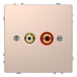 Аудиорозетка Schneider Electric Merten D-Life MTN4350-6051