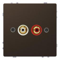 Аудиорозетка Schneider Electric Merten D-Life MTN4350-6052
