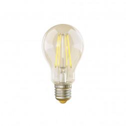 Лампа светодиодная филаментная диммируемая Voltega E27 8W 4000К прозрачная VG10-А1E27cold8W-FD 5490