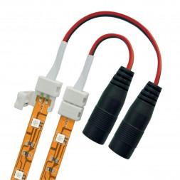 Коннектор для светодиодных лент (06615) Uniel UCX-SJ2/B20-NNN White 020