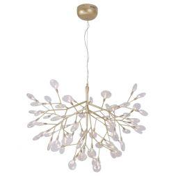 Подвесная люстра Crystal Lux Evita SP63 Gold/Transparent