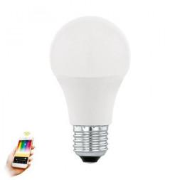 Лампа светодиодная диммируемая E27 9W 3000K матовая 11684