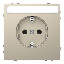 Розетка Schneider Electric Merten D-Life 16A с/з MTN2302-6033