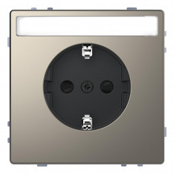 Розетка Schneider Electric Merten D-Life 16A с/з MTN2302-6050