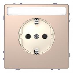 Розетка Schneider Electric Merten D-Life 16A с/з MTN2302-6051