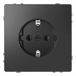 Розетка Schneider Electric Merten D-Life 16A с/з без шторок MTN2301-6034