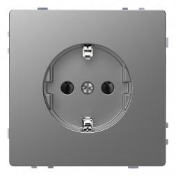 Розетка Schneider Electric Merten D-Life 16A с/з без шторок MTN2301-6036
