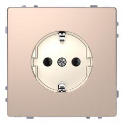 Розетка Schneider Electric Merten D-Life 16A с/з без шторок MTN2301-6051