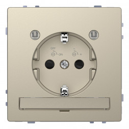 Розетка Schneider Electric Merten D-Life 16A с/з и LED модулем MTN2304-6033
