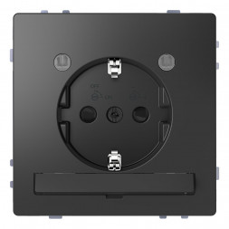 Розетка Schneider Electric Merten D-Life 16A с/з и LED модулем MTN2304-6034