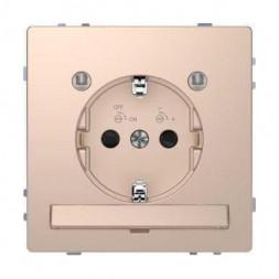 Розетка Schneider Electric Merten D-Life 16A с/з и LED модулем MTN2304-6051