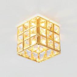 Встраиваемый светильник Ambrella light Crystal K110/3 CL/G