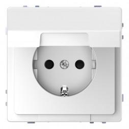 Розетка Schneider Electric Merten D-Life 16A с/з и крышкой MTN2310-6035