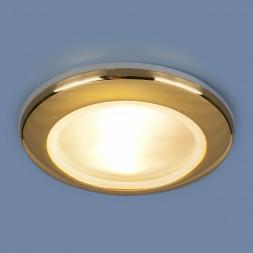 Встраиваемый светильник Elektrostandard 1080 MR16 GD золото 4690389060519