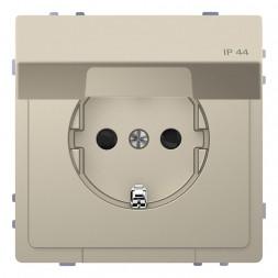 Розетка Schneider Electric Merten D-Life 16A с/з и крышкой MTN2314-6033