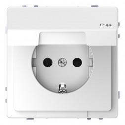 Розетка Schneider Electric Merten D-Life 16A с/з и крышкой MTN2314-6035