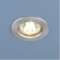 Встраиваемый светильник Elektrostandard 863 MR16 SCH хром сатинированный 4690389055546