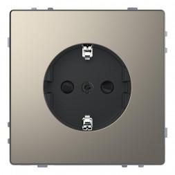 Розетка Schneider Electric Merten D-Life 16A с/з и шторками MTN2400-6050