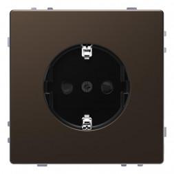 Розетка Schneider Electric Merten D-Life 16A с/з и шторками MTN2400-6052