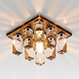Встраиваемый светильник Ambrella light Desing D1049 CH+BR CL