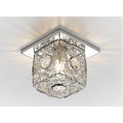 Встраиваемый светильник Ambrella light Desing D1003 CH CL