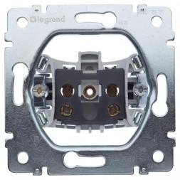 Розетка 2К Legrand Galea Life 16A 250V б/з безвинтовой зажим 775916