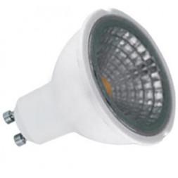 Лампа светодиодная диммируемая GU10 5W 3000K прозрачная 11541