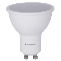 Лампа светодиодная диммируемая GU10 8W 2700K матовая LE-MR16A-D-8/GU10/827 L240