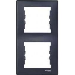 Рамка 2-постовая вертикальная Schneider Electric Sedna SDN5801170