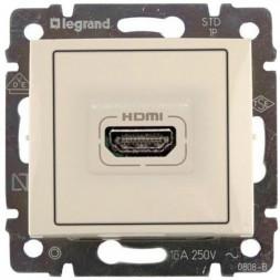 Розетка HDMI Legrand Valena слоновая кость 774185