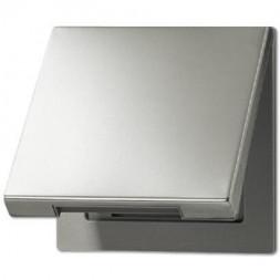 Крышка откидная для розеток и изделий 50х50 Jung LS 990 edelstahl ES2990KL