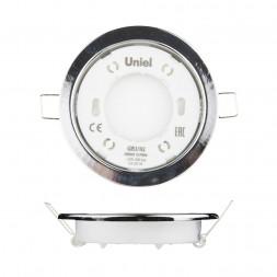 Встраиваемый светильник (UL-00005052) Uniel GX53/H2 Chrome 10 Prom