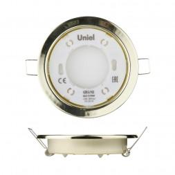 Встраиваемый светильник (UL-00005053) Uniel GX53/H2 Gold 10 Prom