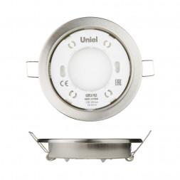 Встраиваемый светильник (UL-00005054) Uniel GX53/H2 Nickel 10 Prom