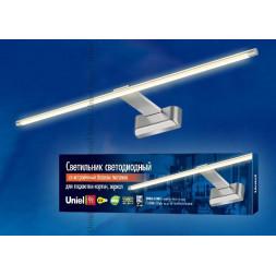 Подсветка для картин (UL-00001058) Uniel ULT-F32-9W/WW IP20 Silver