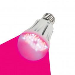 Лампа светодиодная для растений (09645) E27 9W LED-A60-9W/SP/E27/CL
