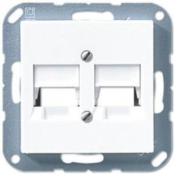 Накладка АМР для двойных модульных гнезд Jung A 500 белая A569-25NWEWW