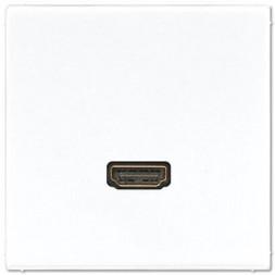 Розетка HDMI Jung MALS1112WW